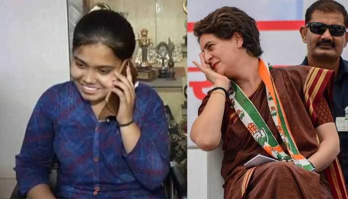 रायबरेली की ऐश्वर्या ने 12वीं में दूसरा स्थान हासिल किया, प्रियंका गांधी ने कॉल कर दी बधाई