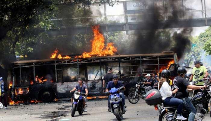वेनेजुएला में मई दिवस पर हुए संघर्ष में एक की मौत, 46 लोग घायल