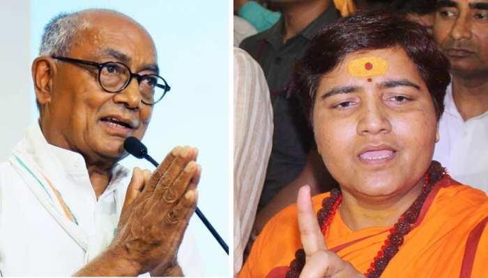 दिग्विजय सिंह और साध्वी प्रज्ञा ने नहीं दिया चुनावी खर्च का सही हिसाब, नोटिस जारी