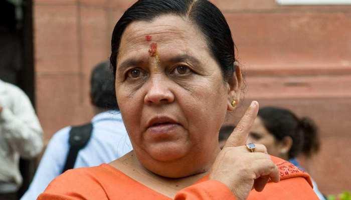 साध्वी प्रज्ञा को जेल में क्या पिलाया जाता था, यह मैं अपने मुंह से नहीं बता सकतीः उमा भारती