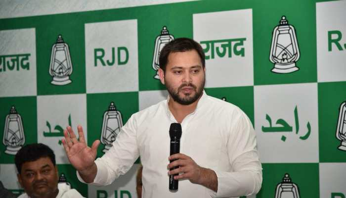 तेजस्वी बोले- बिहार में है 'राक्षस राज', पलटवार में JDU ने लालू यादव को बताया धृतराष्ट्र