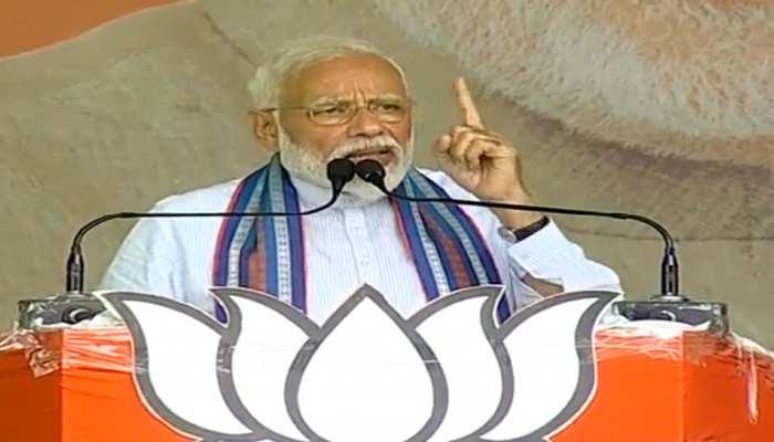 बस्ती में बोले PM मोदी, 'एक वक्त था जब भारत के नेता रोते दिखते थे, आज पाकिस्तान रो रहा है'
