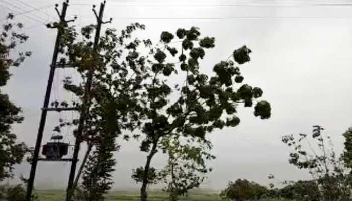 राजस्थान में फोनी चक्रवात के कारण मौसम ने ली करवट, कुछ हिस्सों में हुई बारिश