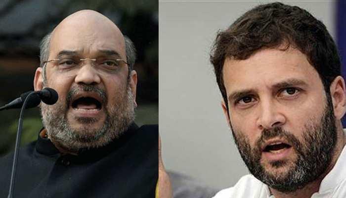 अमित शाह ने संप्रग शासन में हुए रक्षा सौदे को लेकर राहुल गांधी को घेरा