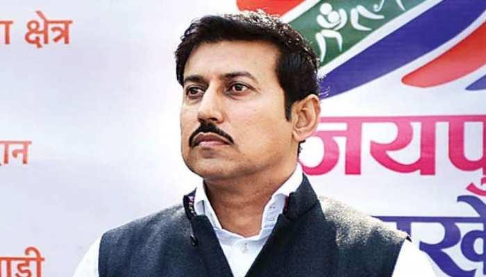 राजस्थान: राज्यवर्धन सिंह राठौड़ ने कहा, 2014 की तरह पूर्ण बहुमत से बनेगी BJP की सरकार