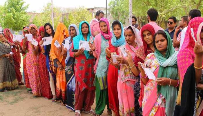 चुनाव 2019: पांचवें चरण में एक फीसदी बढ़ी वोटिंग, अनंतनाग में सबसे कम मतदान