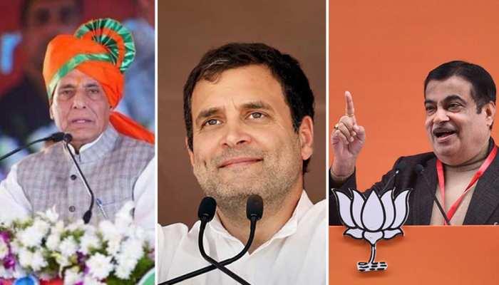 झारखंड में चुनाव प्रचार जोरों पर, राहुल गांधी-राजनाथ सिंह-नितिन गडकरी भरेंगे 'हुंकार'