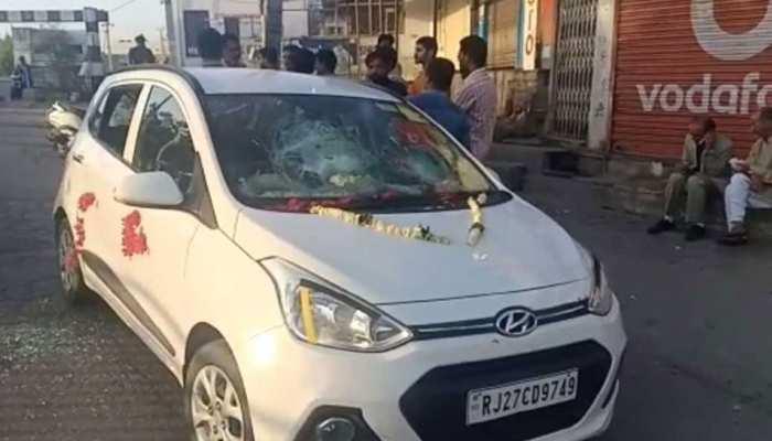 उदयपुर: दुल्हन अपहरण मामले में परिजनों ने पुलिस थाने डाला डेरा, गिरफ्तारी की मांग