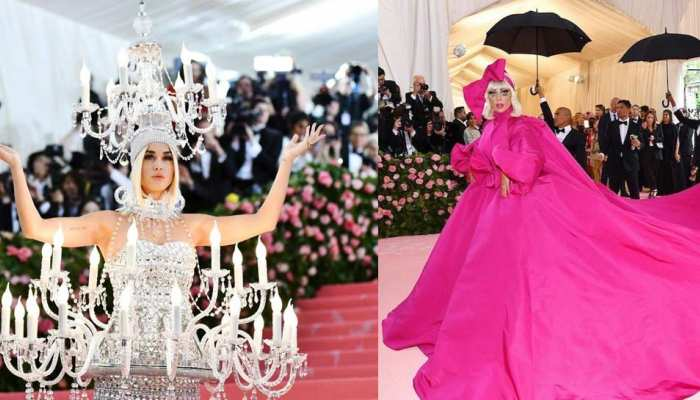 lady gaga to Kim Kardashian these celebs looks stunning at Met Gala 2019