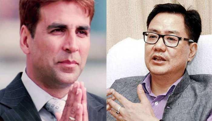 नागरिकता विवाद: केंद्रीय मंत्री किरेन रिजिजू ने दिया साथ, अक्षय कुमार ने कहा- Thank You