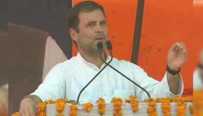 सिरसा: PM मोदी पर बरसे राहुल, कहा- 'राजीव गांधी की बात करनी है करो, पर सवालों का जवाब दो'