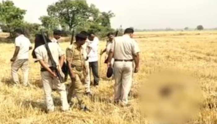 भोजपुर में अज्ञात युवती की मिली सिर कटी लाश, लोगों में दहशत का माहौल