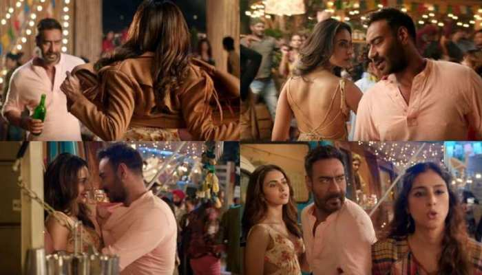'दे दे प्यार दे' का नया गाना रिलीज, तब्बू के सामने रकुल से फ्लर्ट करते नजर आये अजय देवगन