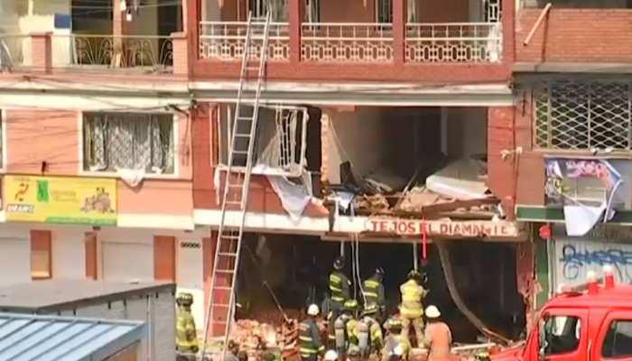 कोलंबिया : खुले में बारूद रखने के कारण फैक्ट्री में विस्फोट, 4 लोगों की मौत