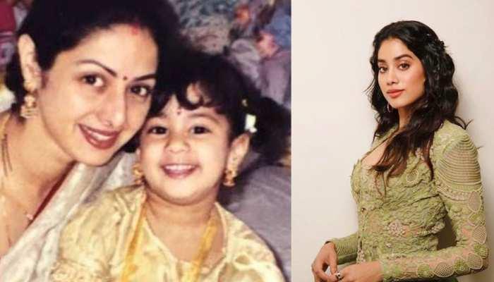 Mother's Day 2019: जाह्नवी ने 'मॉम' श्रीदेवी के साथ शेयर की इमोशनल PHOTO, लिखा दिल छूने वाला मैसेज