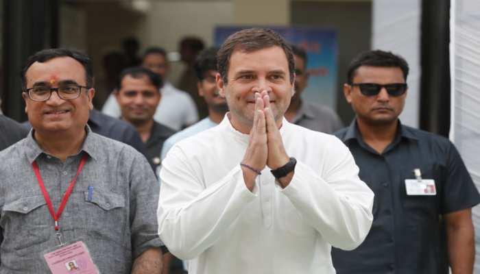 दिल्ली में राहुल ने किया मतदान, कहा- 'PM मोदी ने नफरत पर चुनाव लड़ा, हमारा प्यार जीतेगा'