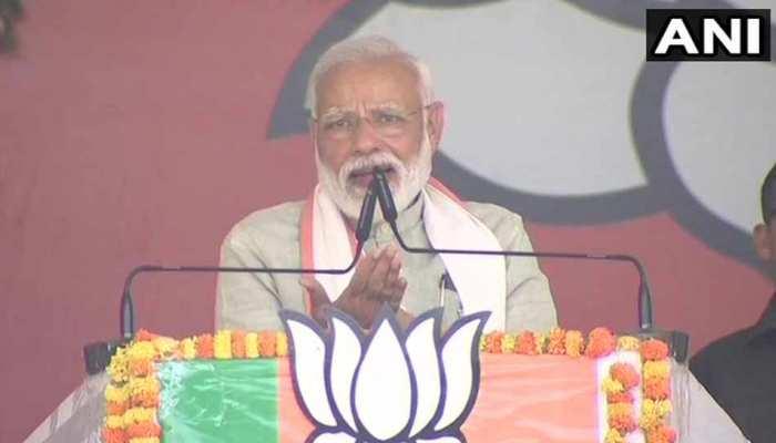 कुशीनगर में PM मोदी ने किया दावा, '23 मई के बाद चारों खाने चित हो जाएगा विपक्ष'