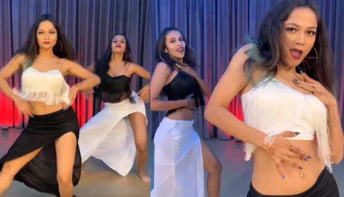 इन लड़कियों ने अपने डांस से जीता लोगों का दिल, इंटरनेट पर वायरल हो रहा VIDEO