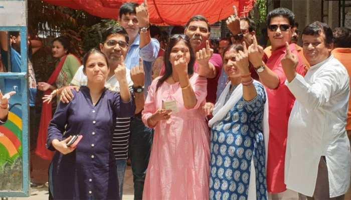 छठे चरण में 59 सीटों पर 62.27% वोटिंग, बंगाल ने 80.16% ने वोट कर सबको पीछे छोड़ा