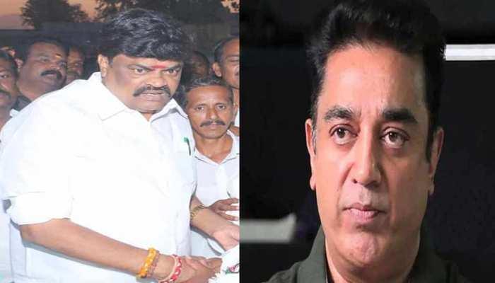 कमल हासन के 'हिंदू आतंकवादी' वाले बयान पर तमिलनाडु के मंत्री बोले, 'काट दो जुबान'