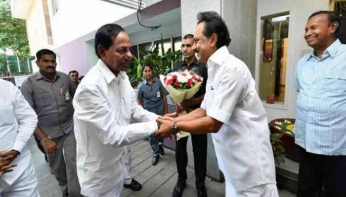 गैर बीजेपी-गैर कांग्रेस सरकार के चक्कर में गए थे KCR, स्टालिन ने दिया टका सा जवाब