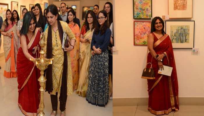 Saga Group Art Exhibition: प्रकृति के प्रेम ने एक डॉक्टर को आर्टिस्ट बना दिया