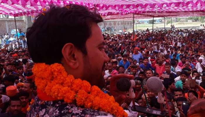 पटना: पाटलिपुत्र में चुनाव प्रचार करने पहुंचे निरहुआ, कहा- 'दोबारा मोदी सरकार की जरूरत'