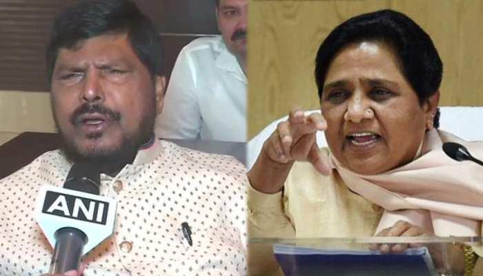 रामदास आठवले की मायावती को दो टूक, 'PM मोदी की पत्नी की चिंता छोड़ अब अपनी शादी कर लें'