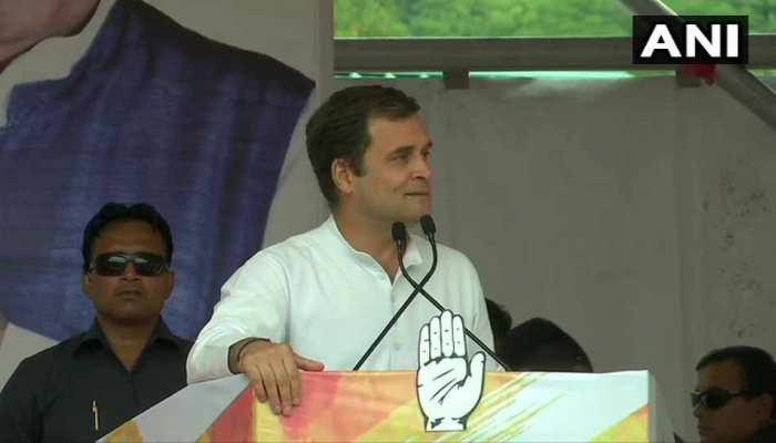 VIDEO: राहुल गांधी ने कहा, 'नोटबंदी के समय PM मोदी ने अपनी पूरी कैबिनेट को ताले में बंद कर दिया था'