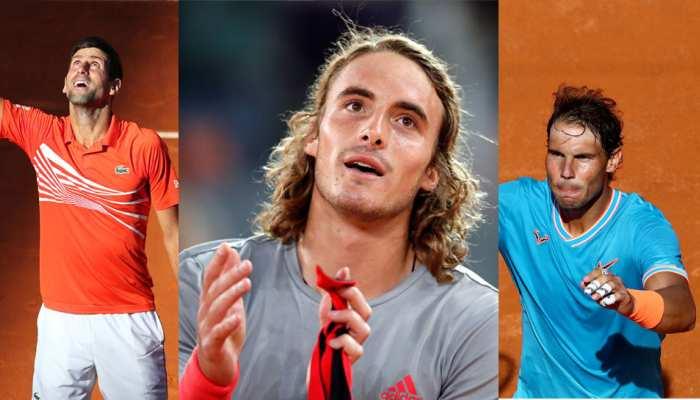 Italian Open: जोकोविच और नडाल पहुंचे सेमीफाइनल में, सितसिपास को बिना खेले मिली जगह