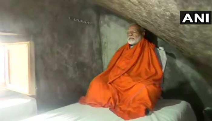 केदारघाटी की गुफा में ध्यान में लीन हुए PM मोदी, रात भर करेंगे साधना