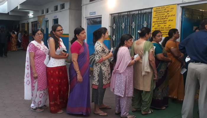 Photos: Voters who living in abroad also put votes in Ujjain