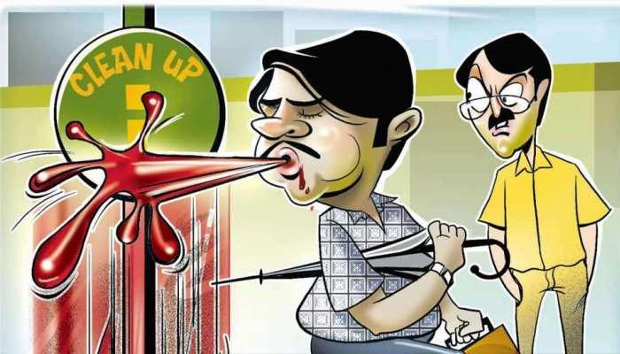 जयपुर: सार्वजनिक स्थल पर थूकने पर पहले होगी समझाइश, फिर लगेगा 200 का जुर्माना