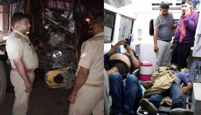 दो दिन बाद लखनऊ-आगरा एक्सप्रेस-वे पर फिर बड़ा हादसा, ड्राइवर की मौत, 24 यात्री घायल