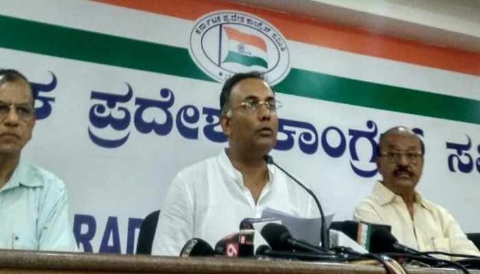 कर्नाटक कांग्रेस प्रमुख ने की अपील, 'विवादास्पद बयानों से बचें कांग्रेस और JDS नेता'