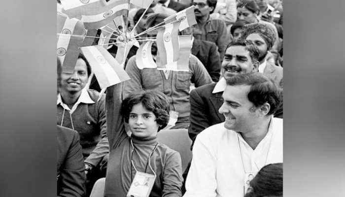 Priyanka gandhi Tribute to Rajiv Gandhi write on social media said miss my hero