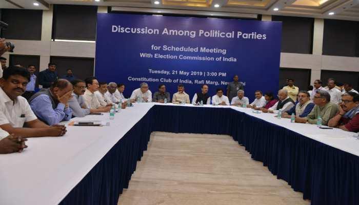 दिल्ली में हुई 21 विपक्षी दलों की बैठक, नतीजों के बाद उठाया जाएगा गठबंधन पर कदम