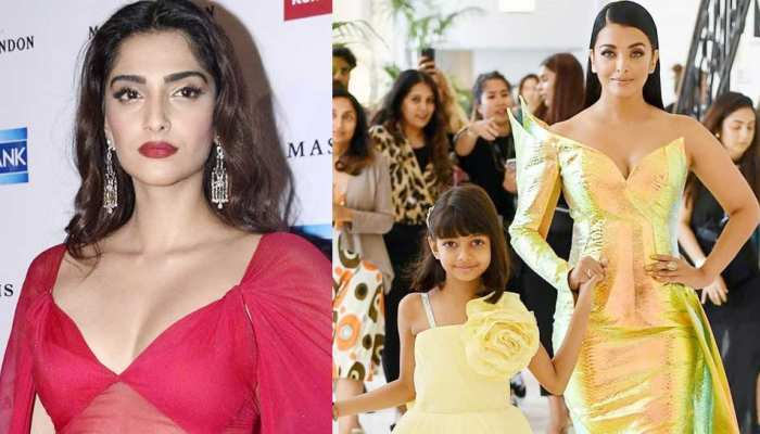 Sonam Kapoor's comments on Aishwarya and Aaradhya  pic on Instagram