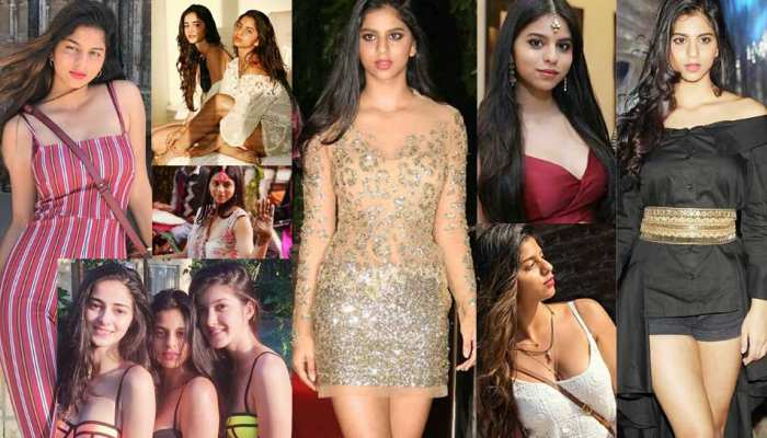 happy birthday to the daughter of ShahRukh Khan Suhana Khan, see some UNSEEN PICS