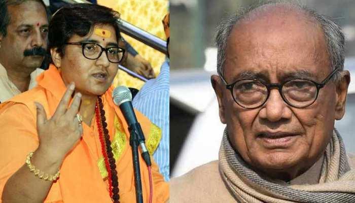 LIVE: लोकसभा चुनाव 2019: मध्य प्रदेश की 28 सीटों पर BJP आगे, साध्वी प्रज्ञा को 25000 वोटों की बढ़त