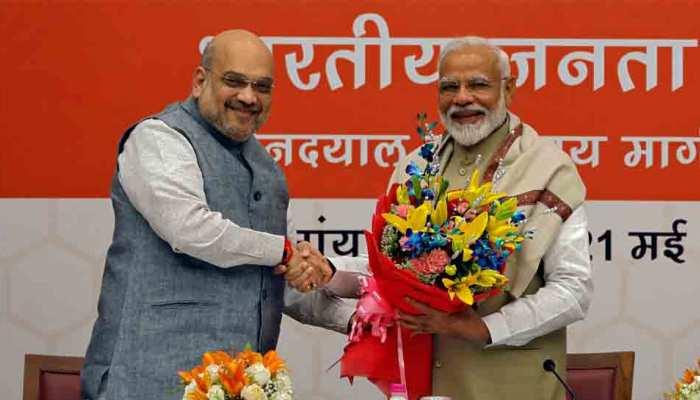 नेहरू और इंदिरा के बाद मोदी ने रचा नया इतिहास, पूर्ण बहुमत के साथ सत्ता में वापसी