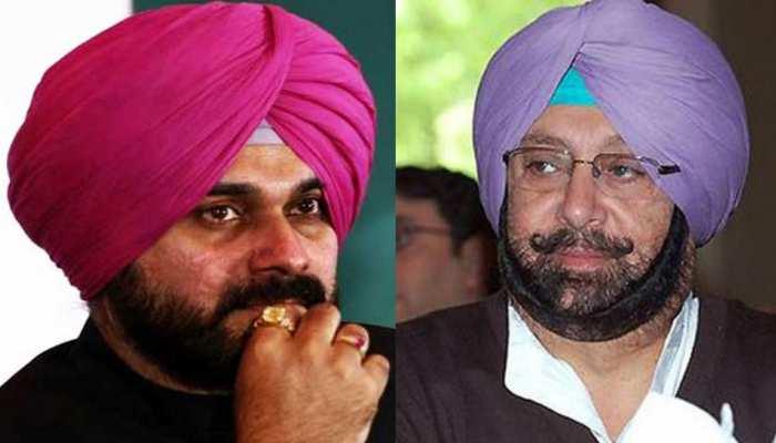 अमरिंदर सिंह बोले- नवजोत सिंह सिद्धू के खिलाफ पार्टी आलाकमान से साधेंगे संपर्क