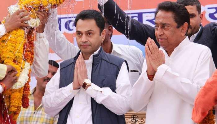 MP में 'पिता-पुत्र' ने खोला कांग्रेस की जीत का खाता, घट गया जीत का अंतर
