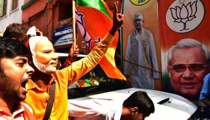 बंगाल में विधानसभा उपचुनाव में भाजपा ने 4 सीटें जीतीं, TMC से भी सीट छीनी