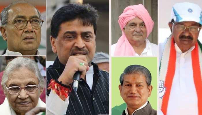 'मोदी लहर' में कांग्रेस के 9 पूर्व मुख्यमंत्री हारे, पार्टी के भविष्य पर उठने लगे सवाल