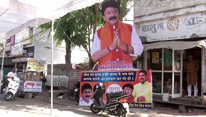 बंगाल में बीजेपी की जीत के बाद MP में बदल सकते है सियासी समीकरण, कैलाश विजयवर्गीय के लगे पोस्टर