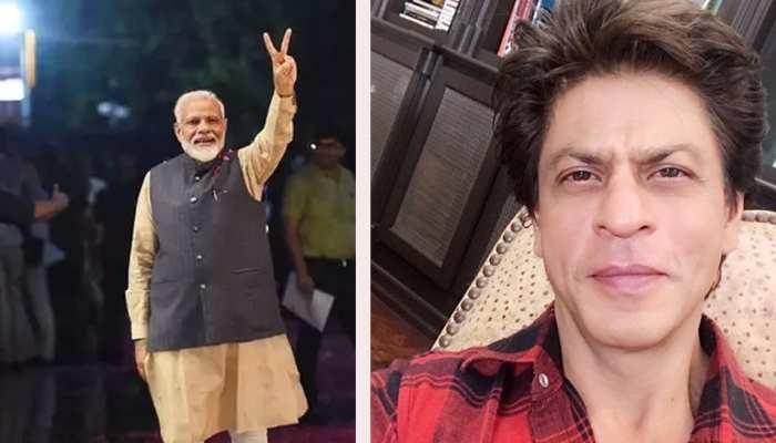शाहरुख खान ने लोकसभा चुनावों में जीत के लिए पीएम मोदी को कुछ इस तरह दी बधाई