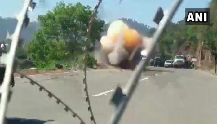 VIDEO: आतंकियों ने तहस-नहस करने के लिए बिछाया था बारूद, बम निरोधक दस्ते ने ऐसे किया नाकाम