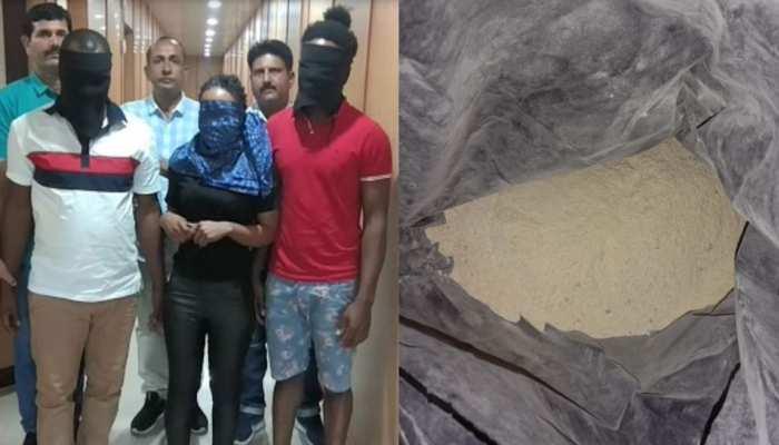 हाईप्रोफाइल पार्टी में करते थे ड्रग्स की सप्लाई करने वाले 3 विदेशी नागरिक गिरफ्तार