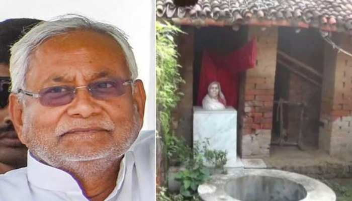 nitish kumar paternal house is getting renovate